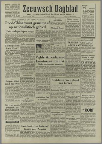 Zeeuwsch Dagblad 1958-08-25