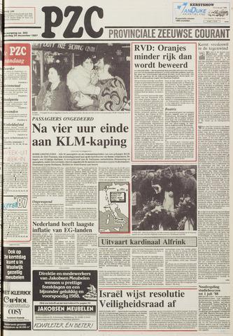 Provinciale Zeeuwse Courant 1987-12-24