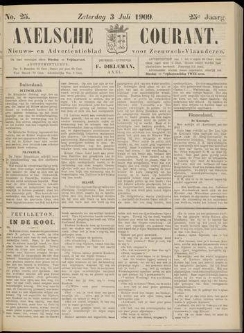 Axelsche Courant 1909-07-03