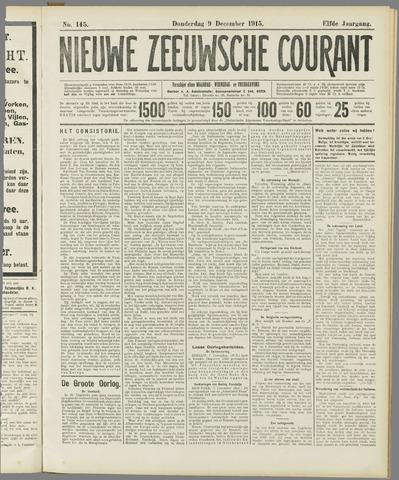 Nieuwe Zeeuwsche Courant 1915-12-09