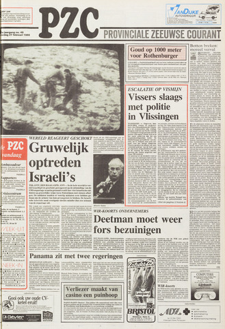 Provinciale Zeeuwse Courant 1988-02-27