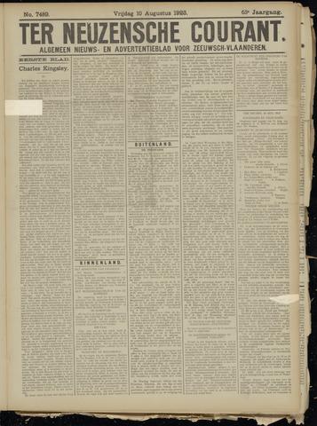 Ter Neuzensche Courant. Algemeen Nieuws- en Advertentieblad voor Zeeuwsch-Vlaanderen / Neuzensche Courant ... (idem) / (Algemeen) nieuws en advertentieblad voor Zeeuwsch-Vlaanderen 1923-08-10