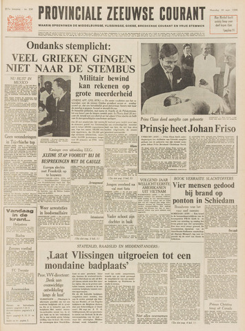 Provinciale Zeeuwse Courant 1968-09-30