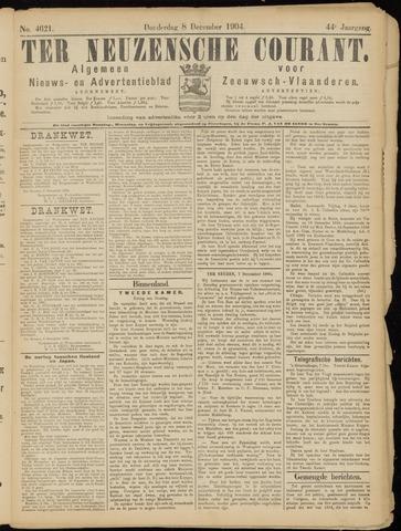 Ter Neuzensche Courant. Algemeen Nieuws- en Advertentieblad voor Zeeuwsch-Vlaanderen / Neuzensche Courant ... (idem) / (Algemeen) nieuws en advertentieblad voor Zeeuwsch-Vlaanderen 1904-12-08