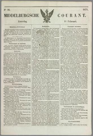 Middelburgsche Courant 1871-02-11