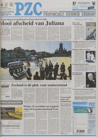 Provinciale Zeeuwse Courant 2004-03-31