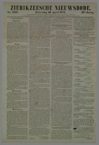 Zierikzeesche Nieuwsbode 1873-04-26