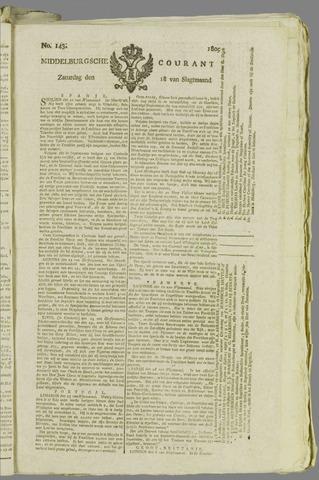 Middelburgsche Courant 1809-11-18