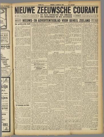 Nieuwe Zeeuwsche Courant 1923-08-07
