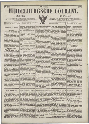 Middelburgsche Courant 1899-10-28