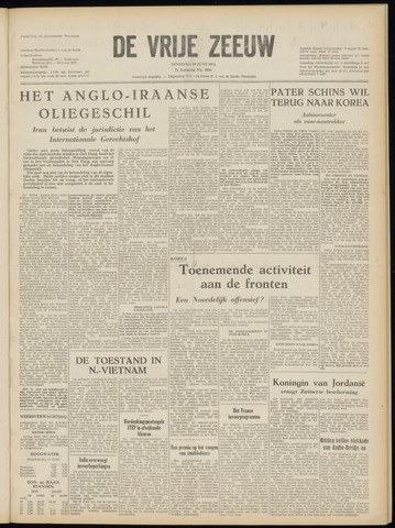 de Vrije Zeeuw 1952-06-10