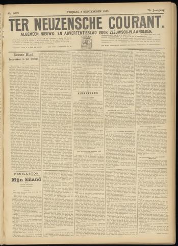 Ter Neuzensche Courant. Algemeen Nieuws- en Advertentieblad voor Zeeuwsch-Vlaanderen / Neuzensche Courant ... (idem) / (Algemeen) nieuws en advertentieblad voor Zeeuwsch-Vlaanderen 1933-09-08