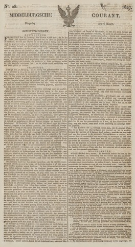 Middelburgsche Courant 1827-03-06