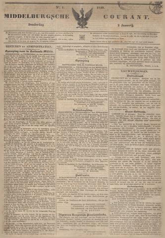 Middelburgsche Courant 1840