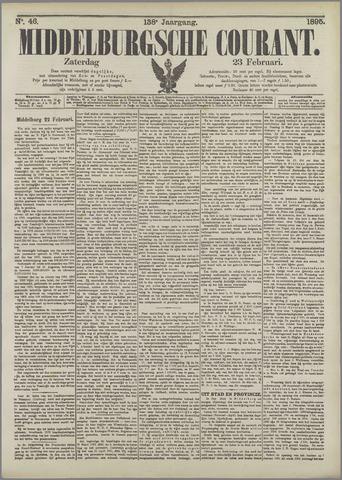 Middelburgsche Courant 1895-02-23