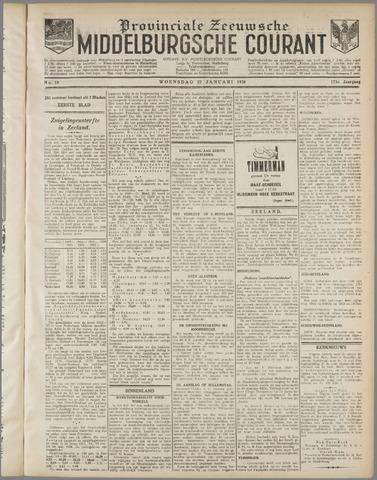 Middelburgsche Courant 1930-01-22