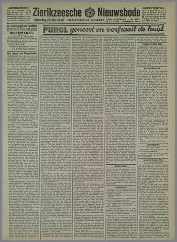 Zierikzeesche Nieuwsbode 1930-05-26