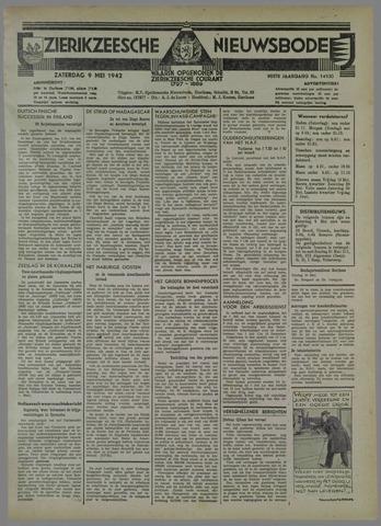 Zierikzeesche Nieuwsbode 1942-05-09