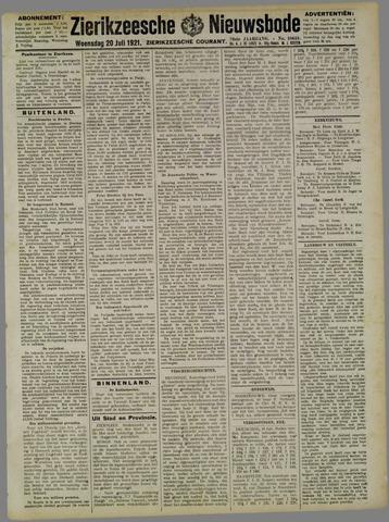 Zierikzeesche Nieuwsbode 1921-07-20