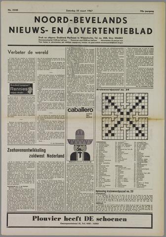 Noord-Bevelands Nieuws- en advertentieblad 1967-03-25