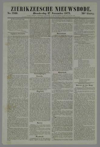 Zierikzeesche Nieuwsbode 1873-11-27
