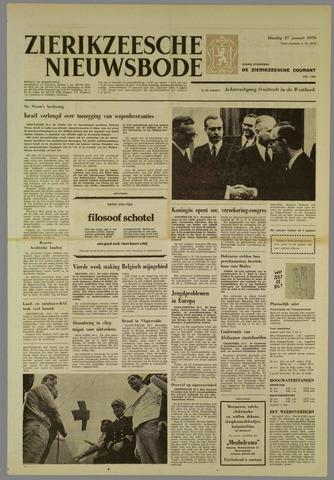 Zierikzeesche Nieuwsbode 1970-01-27