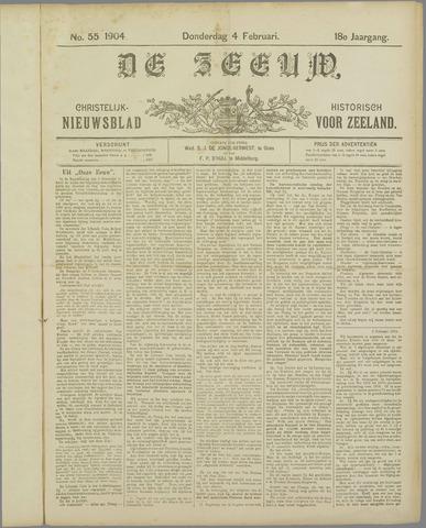 De Zeeuw. Christelijk-historisch nieuwsblad voor Zeeland 1904-02-04