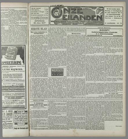 Onze Eilanden 1927-07-30