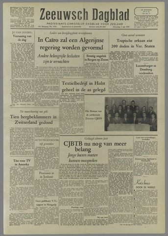 Zeeuwsch Dagblad 1957-07-01