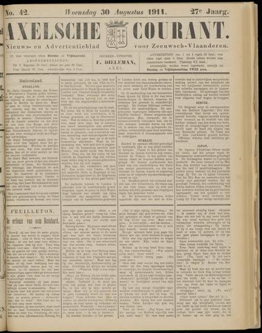 Axelsche Courant 1911-08-30