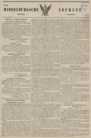 Middelburgsche Courant 1852-08-07