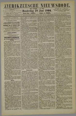 Zierikzeesche Nieuwsbode 1900-06-28