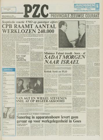 Provinciale Zeeuwse Courant 1977-11-18