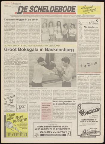 Scheldebode 1992-01-07