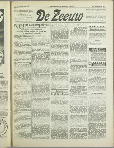 De Zeeuw. Christelijk-historisch nieuwsblad voor Zeeland 1937-09-24
