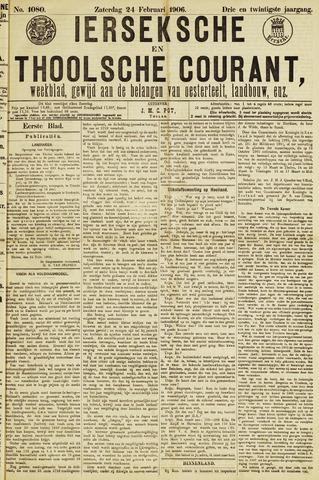 Ierseksche en Thoolsche Courant 1906-02-24