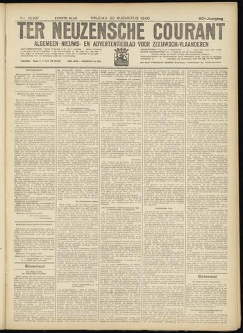 Ter Neuzensche Courant. Algemeen Nieuws- en Advertentieblad voor Zeeuwsch-Vlaanderen / Neuzensche Courant ... (idem) / (Algemeen) nieuws en advertentieblad voor Zeeuwsch-Vlaanderen 1940-08-30