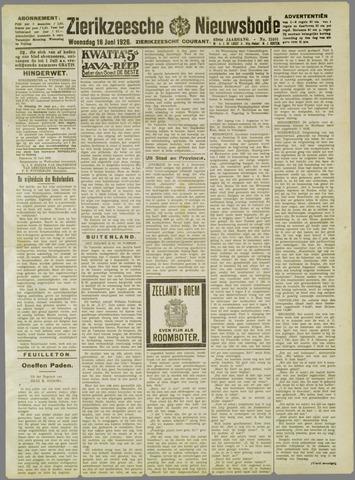 Zierikzeesche Nieuwsbode 1926-06-16