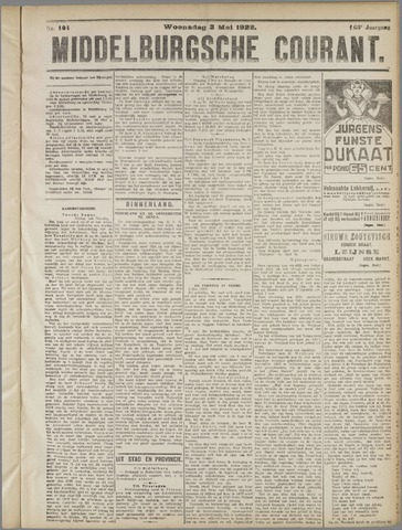 Middelburgsche Courant 1922-05-03