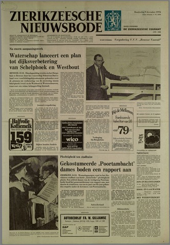 Zierikzeesche Nieuwsbode 1976-12-09