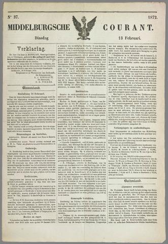Middelburgsche Courant 1872-02-13