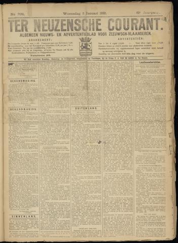 Ter Neuzensche Courant. Algemeen Nieuws- en Advertentieblad voor Zeeuwsch-Vlaanderen / Neuzensche Courant ... (idem) / (Algemeen) nieuws en advertentieblad voor Zeeuwsch-Vlaanderen 1921-01-05