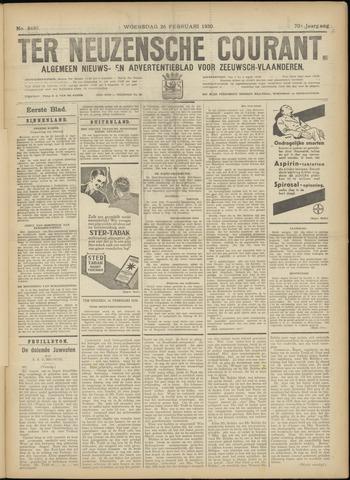 Ter Neuzensche Courant. Algemeen Nieuws- en Advertentieblad voor Zeeuwsch-Vlaanderen / Neuzensche Courant ... (idem) / (Algemeen) nieuws en advertentieblad voor Zeeuwsch-Vlaanderen 1930-02-26