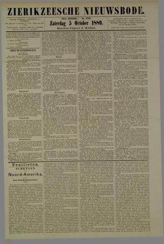 Zierikzeesche Nieuwsbode 1889-10-05