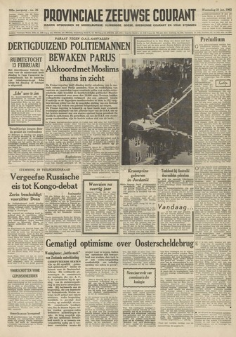 Provinciale Zeeuwse Courant 1962-01-31