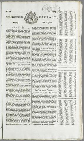 Zierikzeesche Courant 1824-07-30