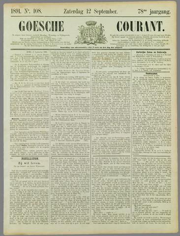 Goessche Courant 1891-09-12