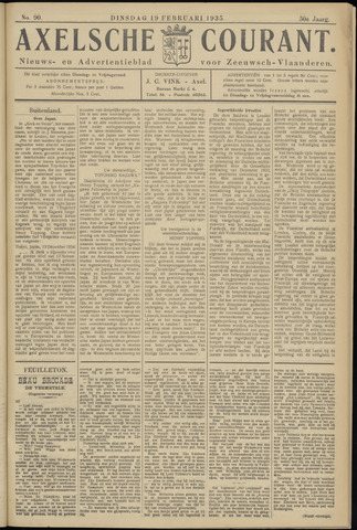 Axelsche Courant 1935-02-19