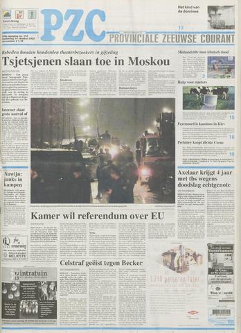 Provinciale Zeeuwse Courant 2002-10-24