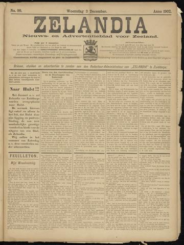 Zelandia. Nieuws-en advertentieblad voor Zeeland | edities: Het Land van Hulst en De Vier Ambachten 1902-12-03